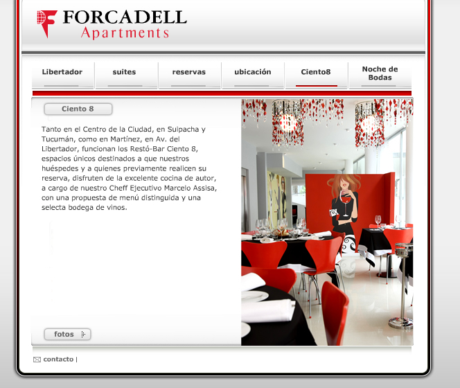 Nueva Web Forcadell Apartments Libertador