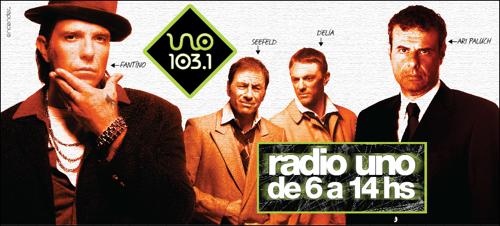 Piezas gráficas Radio Uno - Campaña 2008