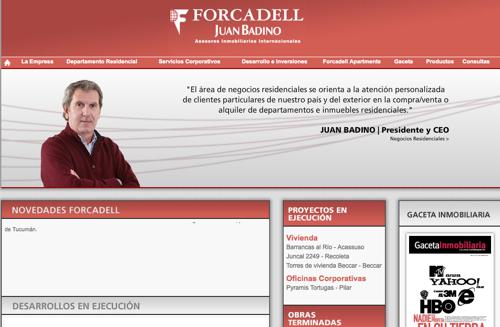 Nueva web de Forcadell Juan Badino