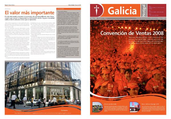 Un nuevo diario en el Galicia