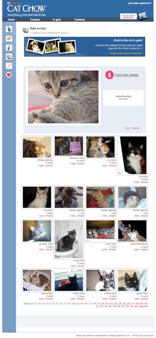 Sección de fotos de fielesamigos.com