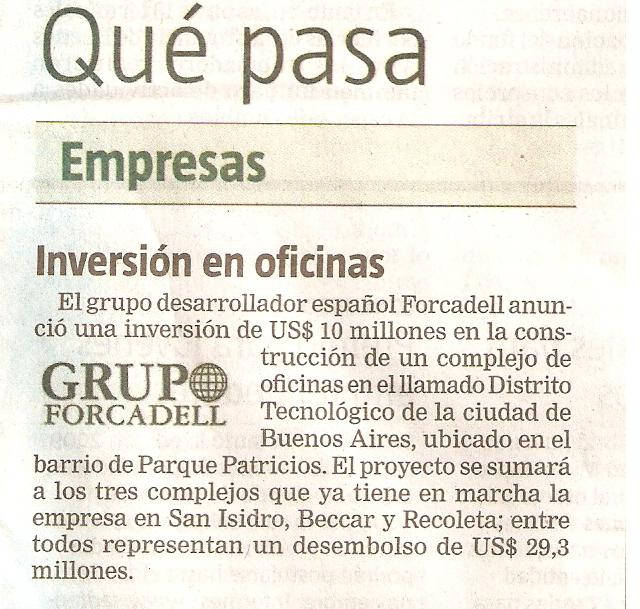El Grupo Forcadell es noticia