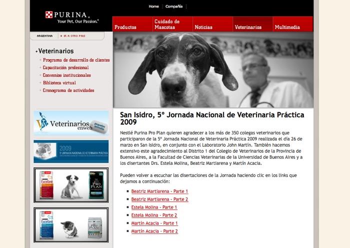Desde hoy, nuevo Sitio de Internet de Purina