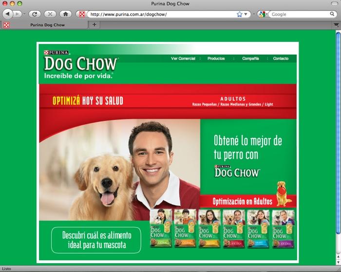 Nuevo dogchow.com.ar