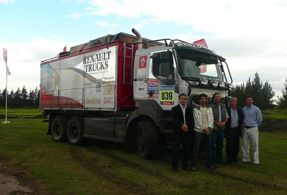 Renault Trucks, el gran protagonista del Dakar