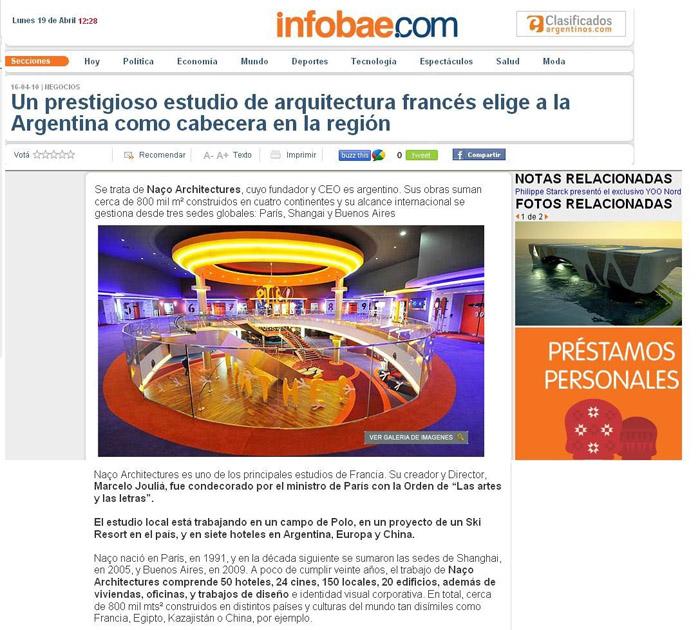 Naco Architectures elige Argentina para expandirse a Latinoamérica