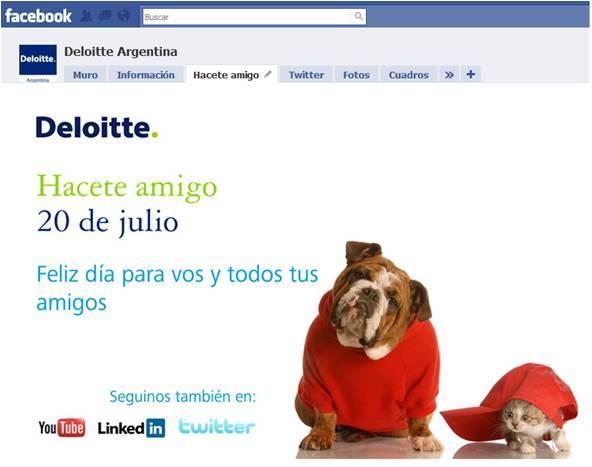 Acompañamos a Deloitte Argentina en su desembarco en redes sociales