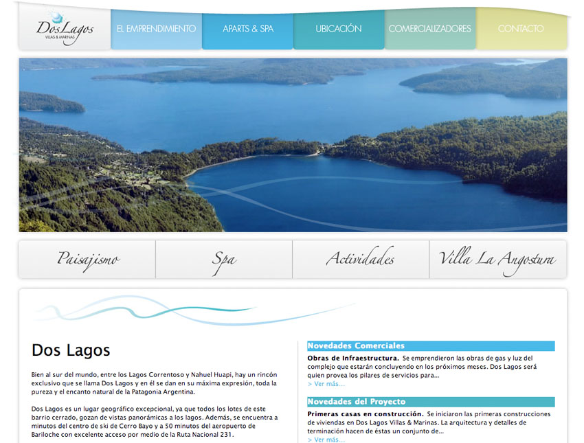 Un lugar único en la Patagonia... y en Internet