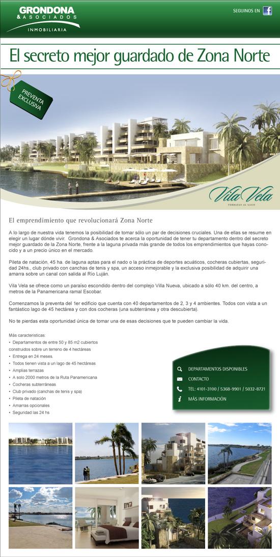 Newsletter de Vila Vela