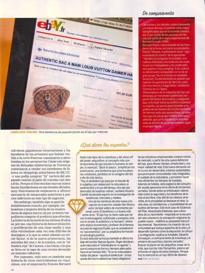 Nota La Nación revista