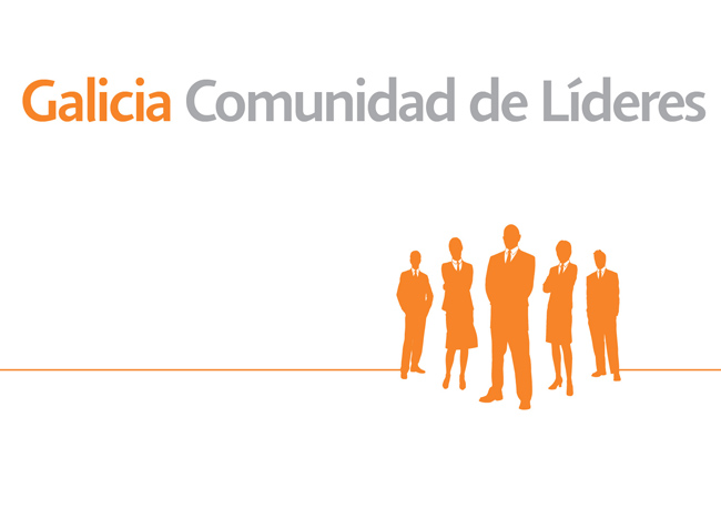 Isologotipo de Galicia Líderes