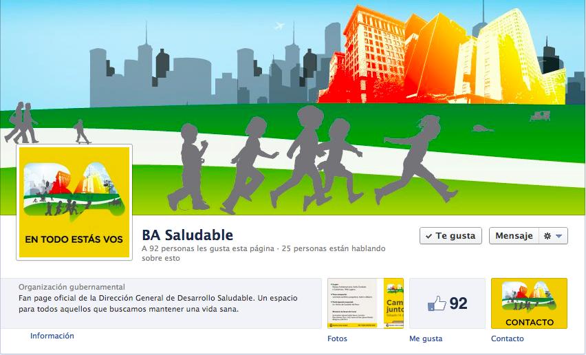 Cover y profile photo del Fan Page.