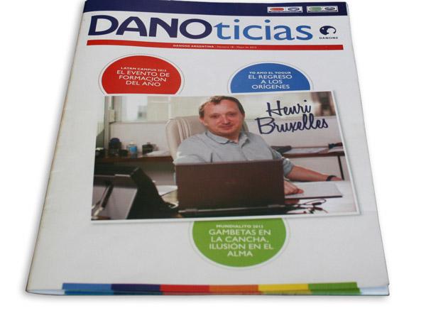 Tapa de Danoticias.