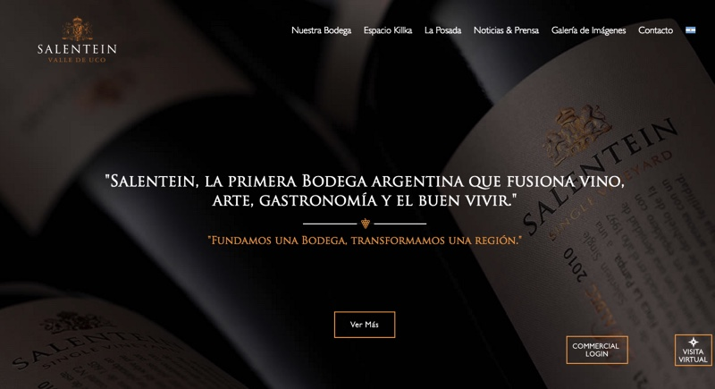 Home page... arte, vinos, y estilo de vida.