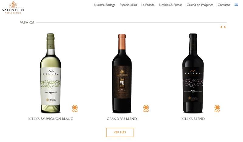 Todos los detalles sobre los vinos.