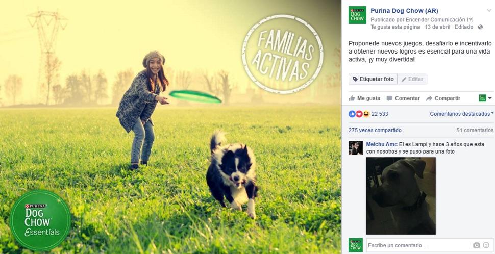 Familias activas.