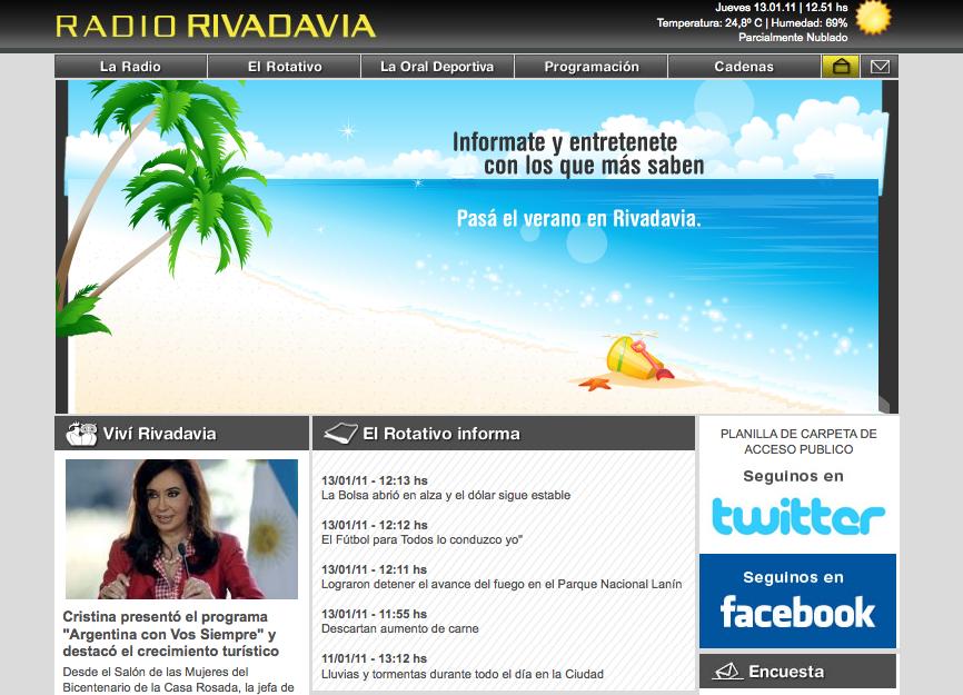 Verano en Rivadavia