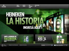 Nuevo sitio web de la cerveza premium más internacional