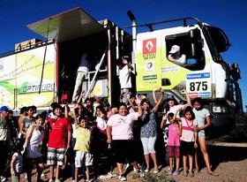 Encender desarrolló el programa Rally RSE para Renault Trucks