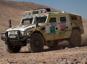Experiencia única de Encender junto a Renault Trucks en el Dakar