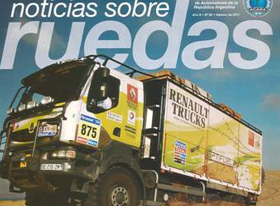 Récord de Renault Trucks junto a Encender: ¡12 tapas de revistas!