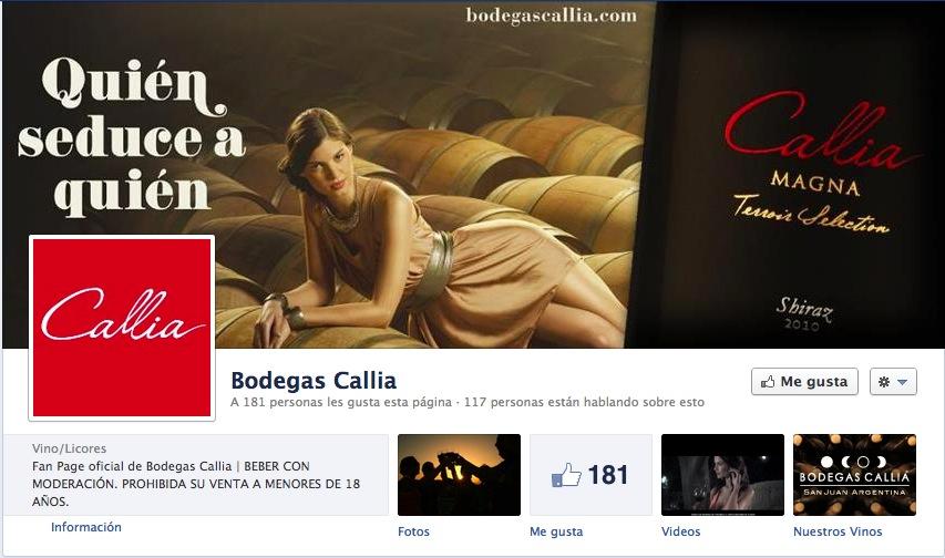 Toda la frescura de Callia ahora en Facebook