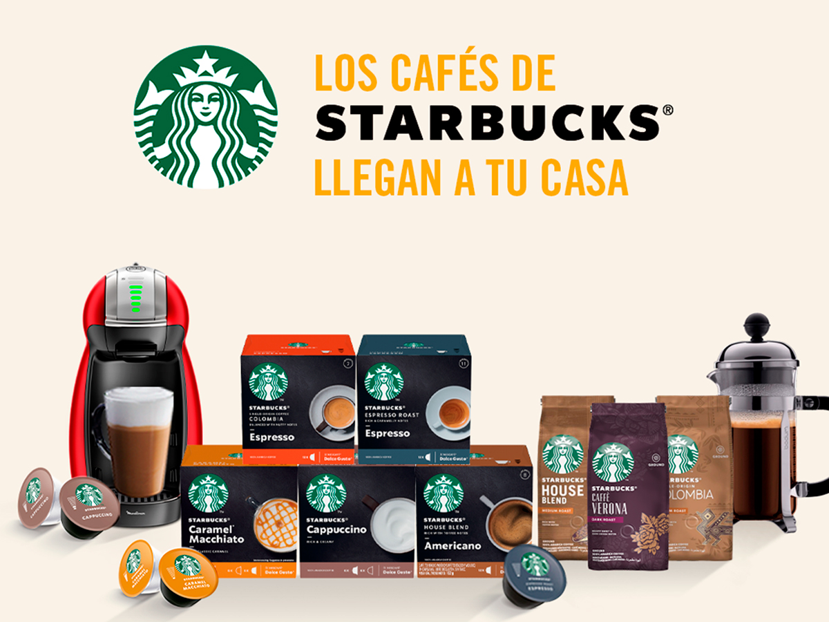 Lanzamiento Starbucks at home