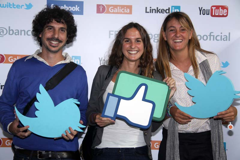 Las redes sociales llegaron al Galicia