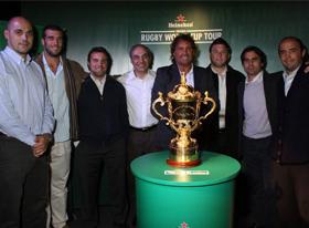 Heineken trajo el Rugby World Cup Tour y Encender trabajó en su difusión