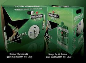 Heineken junto a la Copa Mundial de Rugby