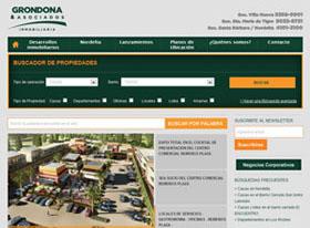 Grondona renueva su sitio web