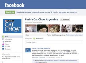 Cat Chow da su primer paso en redes sociales