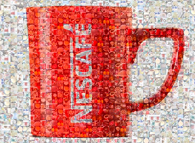 Nescafé llegó a Instagram