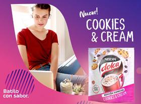 Lanzamiento Cookies & Cream